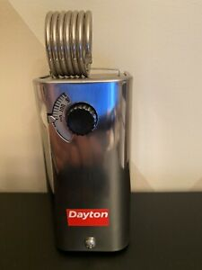 DAYTON 2NNR9 Line Voltage Mechanical Thermostat for Heat and Cool. 24 to 600VAC