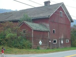 Historical Barn for Sale, circa 1890 dairy barn style, upstate NY