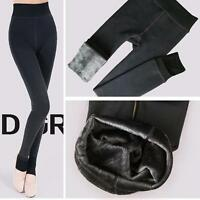 Fashion Women's Thick Warm Fleece Lined Thermal Stretchy Leggings Winter Pants
