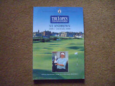 THE OPEN CHAMPIONSHIP PROGRAMME, ST ANDREWS, 20-23 JULY 2000