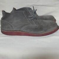 Dr. Martens Air Wair Chukka Boots Khaki Suede Ankle Lace Up DOC MARTENS Men 12