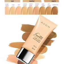 Avon Ideal Flawless Matte Fluid Make Up Foundation 10 Different Shades To Choose