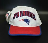 New England Patriots Twins Enterprise NFL Vintage 90's Snapback Cap Hat - NWT
