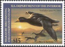 RW69, $15.00 Black Scoter Duck Stamp VF OG NH -Stuart Katz