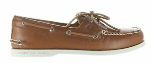 Sperry Top Sider Mens Authentic Original Tan/White Boat Shoes Size 10 (1791019)