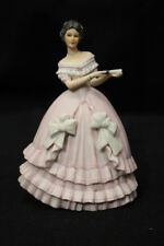"Lenox Fine Porcelain Great Fashions Of History Victorian Caroline 5.5"" Figurine"