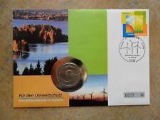 Numisbrief 5 DM 1984 Umweltschutz