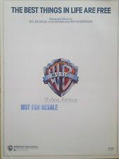 The Best Things In Life Are Free (Piano/Vocal/Chords Sheet Music) MINT CONDITION