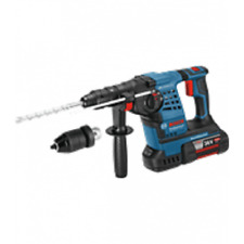 Bosch 36 V GBH 36 VFLI plus SDS Rotary Perceuse à Percussion 2 X 4.0amp Batts + ...