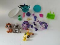 Littlest Pet Shop Lot - Animals and Accessories