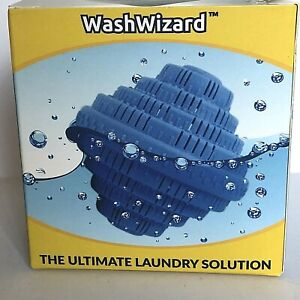 Wash Wizard Reusable Laundry Ball, Cleans Disinfects Hypo-Allergenic.1500 Loads