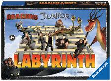 Ravensburger Kinderspiel Such- und Schiebespiel Labyrinth Junior Dragons 21205
