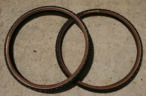 """Pair of Continental Cross Country tyres 26"""" x 1.5"""" 40-559 MTB tires"""