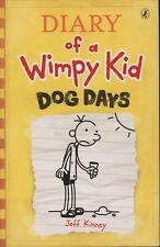 Diary of a Wimpy Kid # 4 - DOG DAYS - Jeff Kinney - SC - VERY GOOD COND