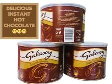 Galaxy Instant Hot Chocolate Drink Powder 1kg Tin Chocolate gift Just Add Water
