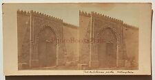 Le Caire Egypte Stereo Vintage albumine ca 1860