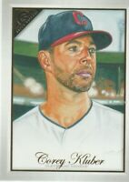 2019 TOPPS GALLERY Corey Kluber Cleveland Indians