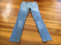 Aeropostale Bayla Distressed Skinny Denim Jeans - Junior's Size 0 Short