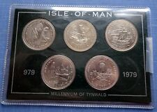 1979 Isle of Man Set of 5 Coins Millennium of Tynwald 979 - 1979 Uncirculated