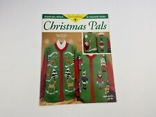 Just Cross Stitch Christmas Pals Cross Stitch Pattern For Sweaters Reindeer Nut