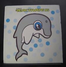 Various - Reactivate 3 LP VG+ REACT LP 172 UK 2000 Reactivate Vinyl Record