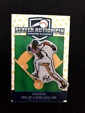 Oakland Athletics Rickey Henderson jersey lapel pin-#1 Collectible-Run Rickey !