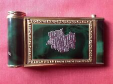 VINTAGE POWDER COMPACT CAMERA STYLE WITH MAP OF POST WWII ALLIED OCCUPIED GERMAN