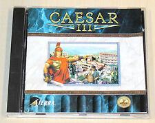 Caesar III 3-PC juego clásico-CD ROM en jewel case