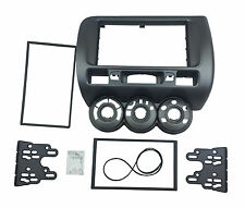 Radio Fascia for Honda Jazz 2 Din Stereo Panel DVD Frame Dash Mount CD Trim Kit