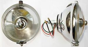 Lucas WLR576 Centre Mounting Spotlight, Spot Light Lamp for Sprite Mini Cooper S