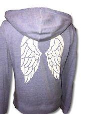 Victoria's Secret Supermodel Sweater Angel Wings Sequin Bling Full Zip NWOT