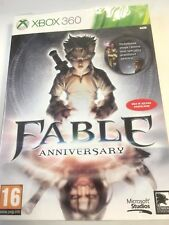 * XBOX 360 * NEW SEALED Game * FABLE ANNIVERSARY * Pol Pack