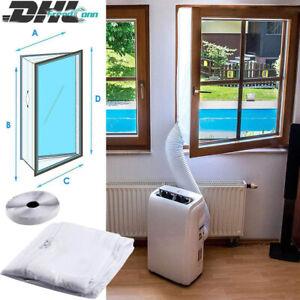 4M Luftschleusen-Fensterabdichtung für Mobile Klimaanlagen Ablufttrockner DHL