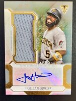 2018 Topps Triple Threads JOSH HARRISON Autograph Jersey Patch Relic SP /75