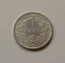 KAISERREICH: 1 Mark 1916 F, J. 17, vorzüglich, SELTEN !!!