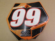 KTM 65SX SX65 SX 65 2009 NUMBER PLATE USED 609
