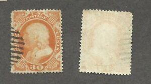 U.S. 30 cent Franklin - Scott# 38 - Solid used    stk#FL