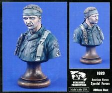 Verlinden 200mm American Heroes Specail Forces Resin Bust Kit #1820