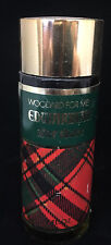 Perfume Vintage Woodard for Men Edwardian After Shave Plaid Pattern Full Cologne