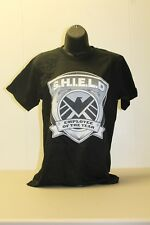 "Marvel Shield ""Employee of the Year"" Black Adult T-Shirt Small - New"