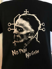 No Pain No Gein T-shirt Serial Killer Real Life Horror Ed Gein Dahmer