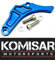 Yamaha YFZ450 Blue Motor Engine Case Saver Chain Guard Billet CNC 2004-2013