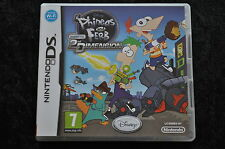 Disney Phineas and Ferb A Cross The 2nd Dimension Nintendo DS
