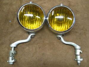 1932-1948 6 inch Appleton fog lights with Cadillac script
