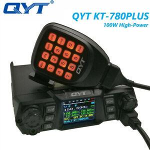 QYT Mobile Radio KT-780PLUS VHF136-174MHz 100W Walkie Talkie Long Distance Radio