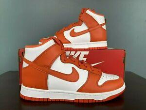 Nike Dunk High SP Syracuse 2021 Women's Size 8.5 DD1869-100