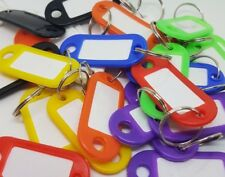 Key Ring Tags*Mixed Colours*Various quantities available* Pack of 200