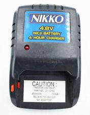 Nikko 1244 RC Ni-Cd 4.8VBattery 4 Hour Charger