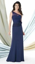 Authenic Montage by Mon Cheri 114927-Color:Indigo-Size 16-Mother of the Bride