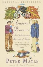 Encore Provence: New Adventures in the South of France by Peter Mayle, (Paperbac
